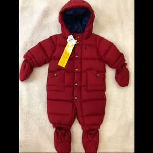 Ralph Lauren Kids Snowsuit
